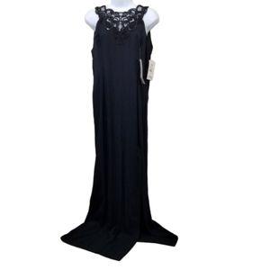 Jessica McClintock Gunne Sax 13 14 Black Dress USA